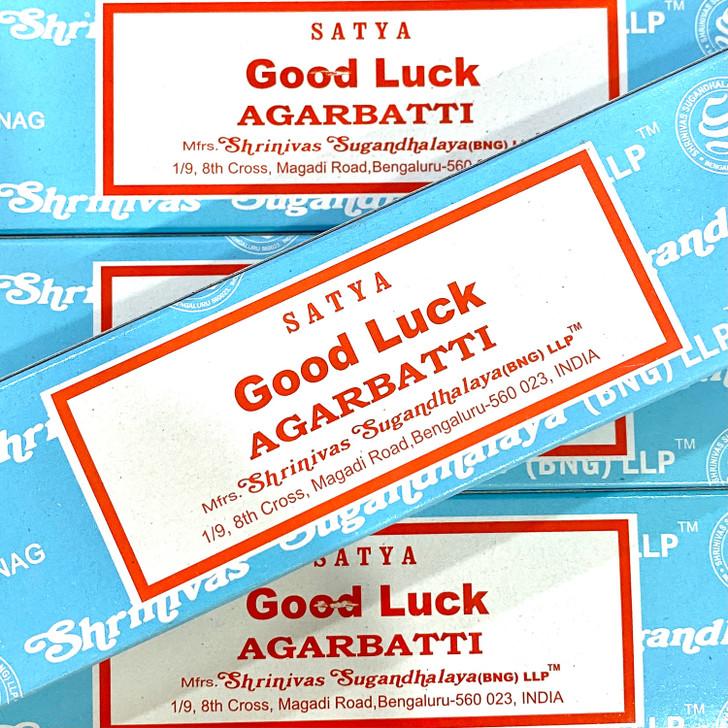 Good Luck Satya Incense Sticks