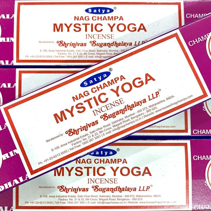 Mystic Yoga Satya Incense Sticks