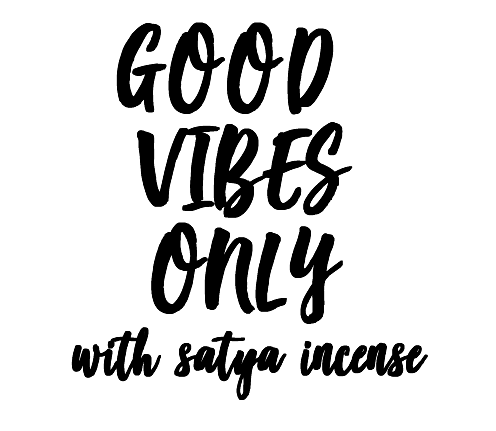 Satya Incense: Good Vibes Only
