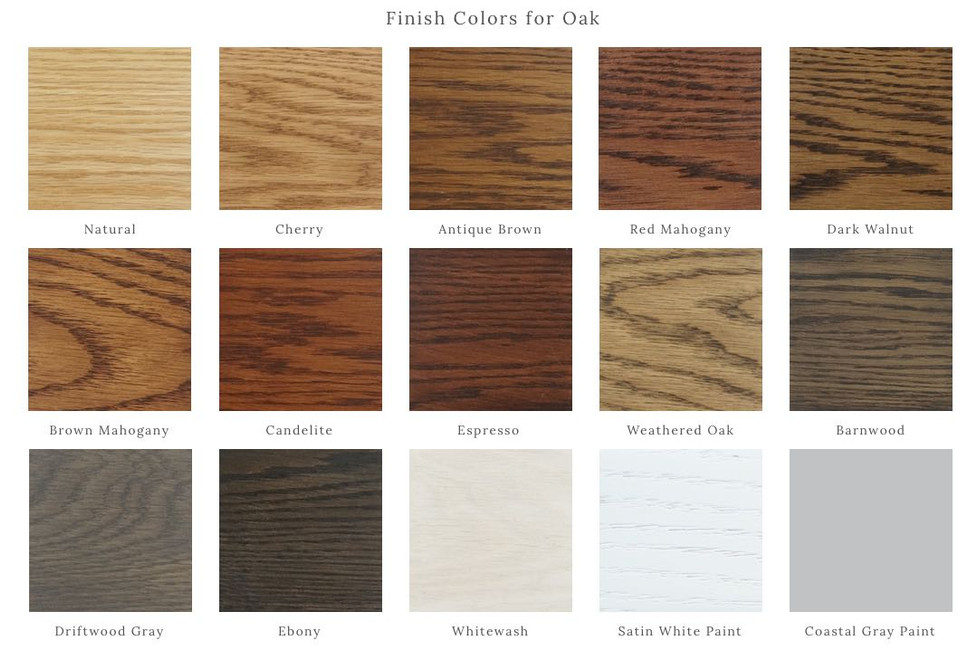 New On-Trend Finish Colors