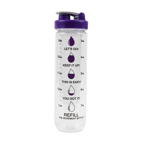The Increment Bottle Polygon Infuser Purple
