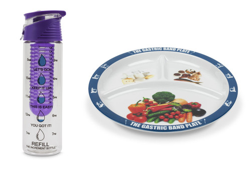 Flip Cap Purple Infuser Basic Portion Control Weight Loss Kit