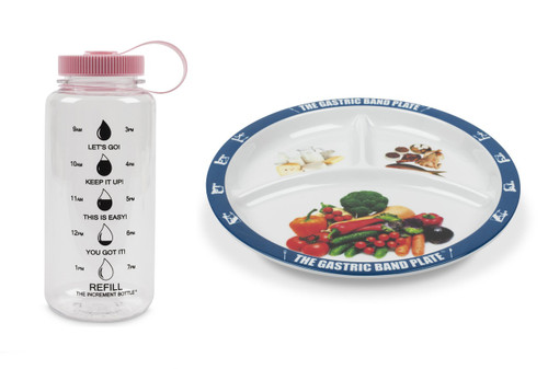 Basic Portion Control Weight Loss Kit Pink Summit Beaker