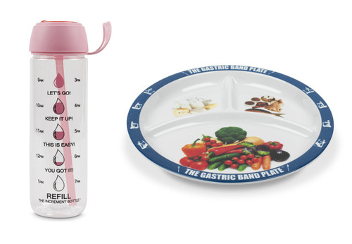 Basic Portion Control Weight Loss Kit Pink Disc Flip