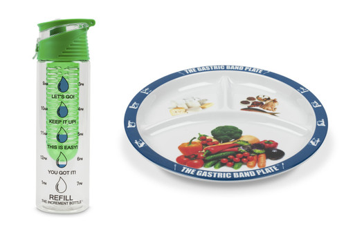 Flip Cap Green Infuser Basic Portion Control Weight Loss Kit