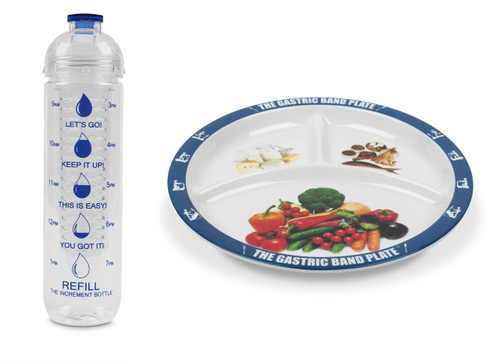 Basic Portion Control Weight Loss Kit Blue Infuser