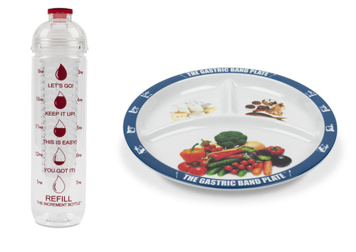 Basic Portion Control Weight Loss Kit Red Infuser