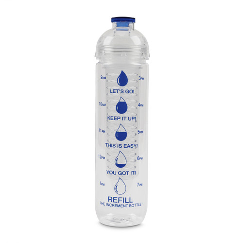 The Increment Bottle Infuser Blue