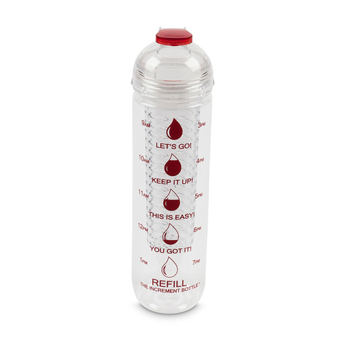 The Increment Bottle Infuser Red