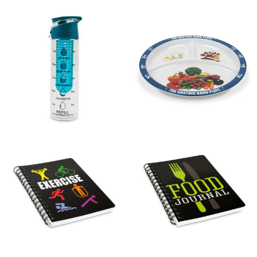 Flip Top Blue Infuser Platinum Diet Kit