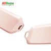 Rectangular Ceramic Dish Meal Baking  Plate Dual Handle 12in Pink