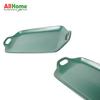 Rectangular Ceramic Dish Meal Baking  Plate Dual Handle 12in Dark Green