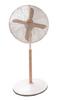 Asahi Wooden Blade Stand Fan XF6077  White