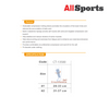 ALLSPORTS-BODY VINE CT13500 Calf Sleeves (silky hi-power)