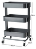 3- Tier Metal Utility Rack