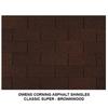 Asphalt Shingles Classic Roofing 16pcs/Bundle