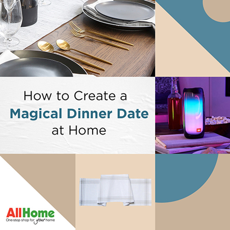 Magical, Instagram-worthy Dinner Date Essentials | AllHome Tips