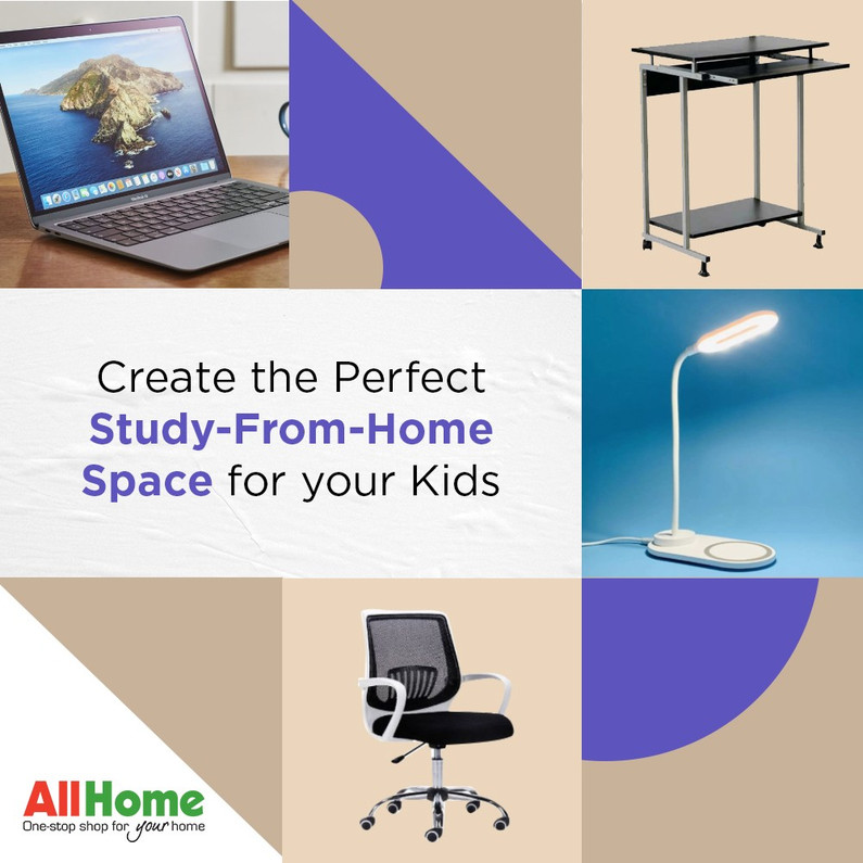 Create the Perfect Study-From-Home Space for your Kids | allhome.com.ph