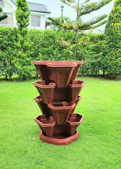 STACKABLE 4L & BASE POT STAND