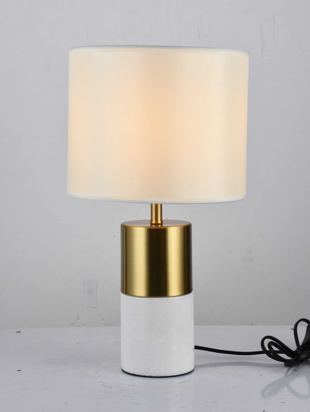 LEUCHTE MT955135WH NEPTUNE METAL TABLE LAMP 45X25