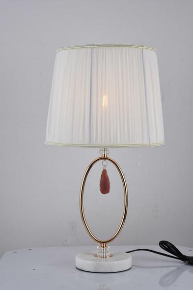 LEUCHTE MT955108 PLUTO METAL TABLE LAMP 56X32