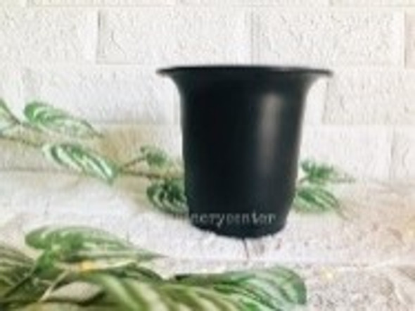 Bell Pot Black 12.5 cm