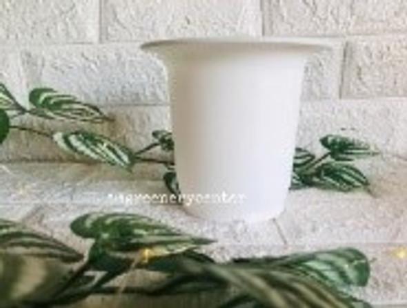 Bell Pot White 12.5 cm