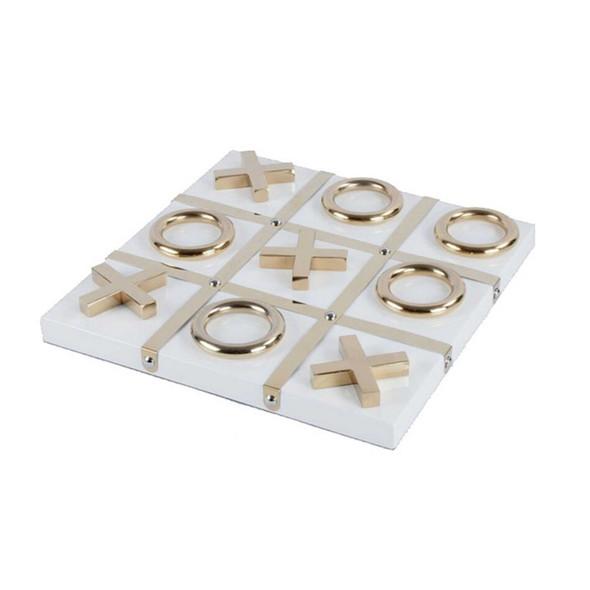Marble Tic Tac Toe White PF F-BJ227