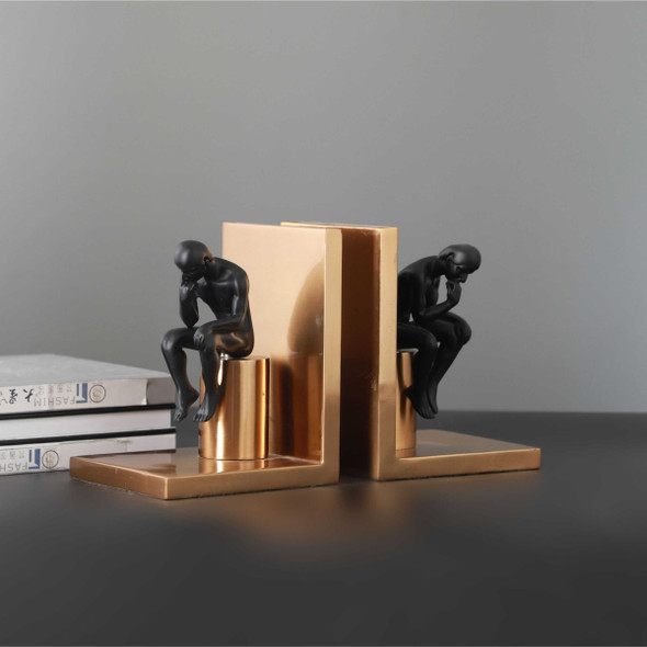 Thinker Bookend PF F-BJ603