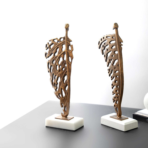 Women Leaf Bronze