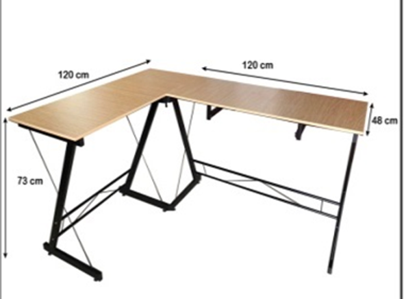 NOLAND L-SHAPED OFFICE TABLE