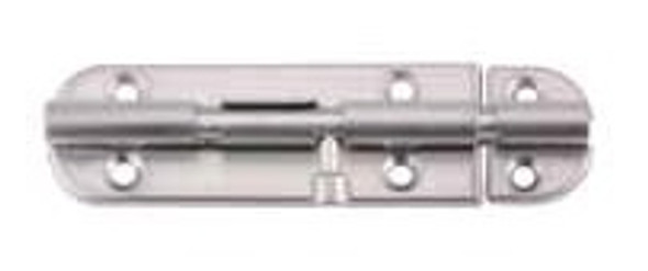 HAFELE DOOR BOLT ST. STAINLESS MATT 102MM