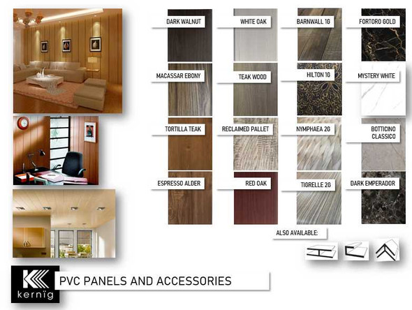 KERNIG PVC Panel J-Clip 8mmx2.95m