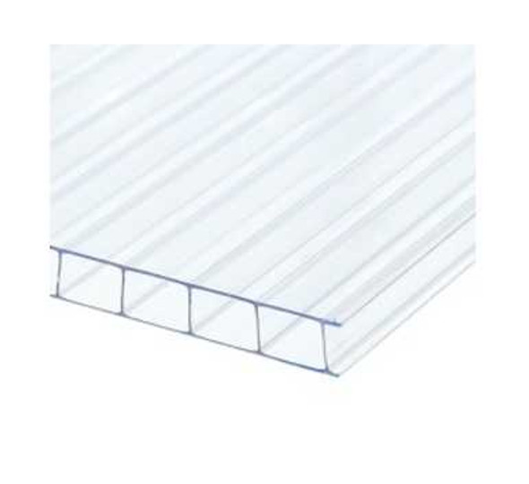 Polyshade Polycarbonate Twinwall Roofing 16ftx4ftx6mm