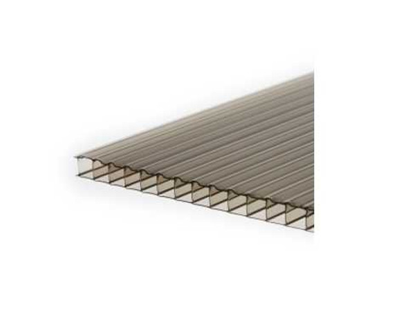 POLYSHADE Polycarbonate Twinwall Roofing 4ftx6mm