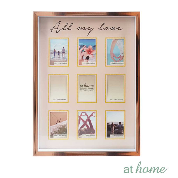 Athome Harper Family Frame Pink- 9 photos