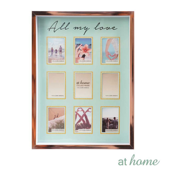 Athome Harper Family Frame Blue- 9 photos
