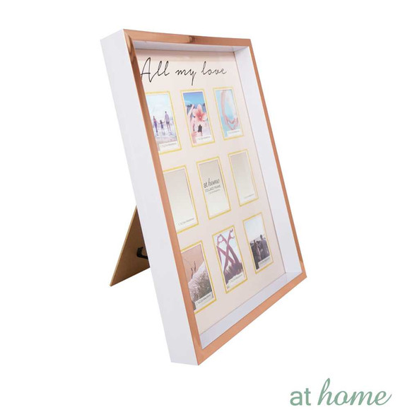 Athome Harper Family Frame White- 9 photos