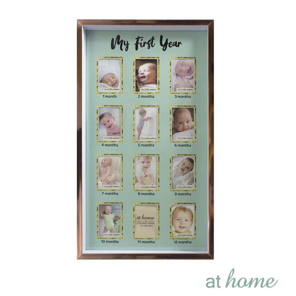 Athome Harlow Watch Me Grow Family Frame Blue– 12 photos