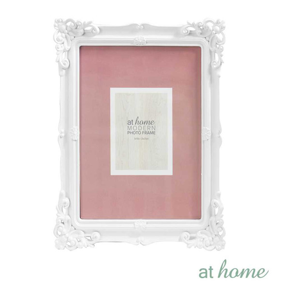 Athome Shaira A Plastic Photo Frame White  8x10