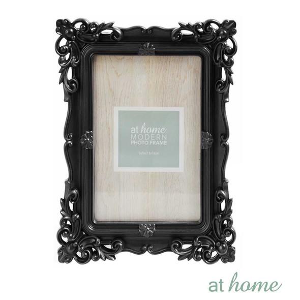 Athome Shaira A Plastic Photo Frame Black 5x7