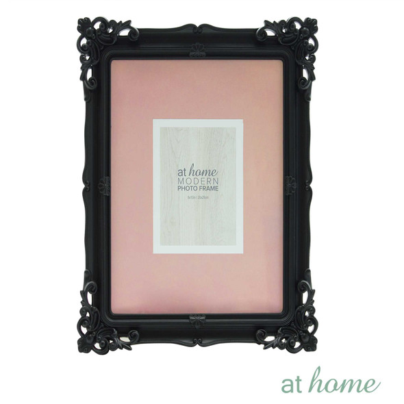 Athome Shaira A Plastic Photo Frame Black 8x10