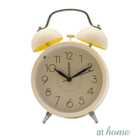 Athome Wanda Table Clock Orange