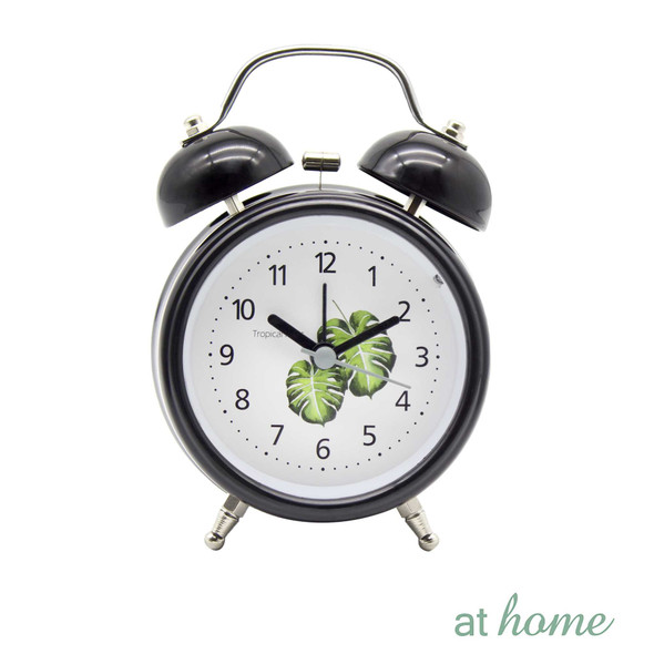 Athome Wendy Table Clock Black