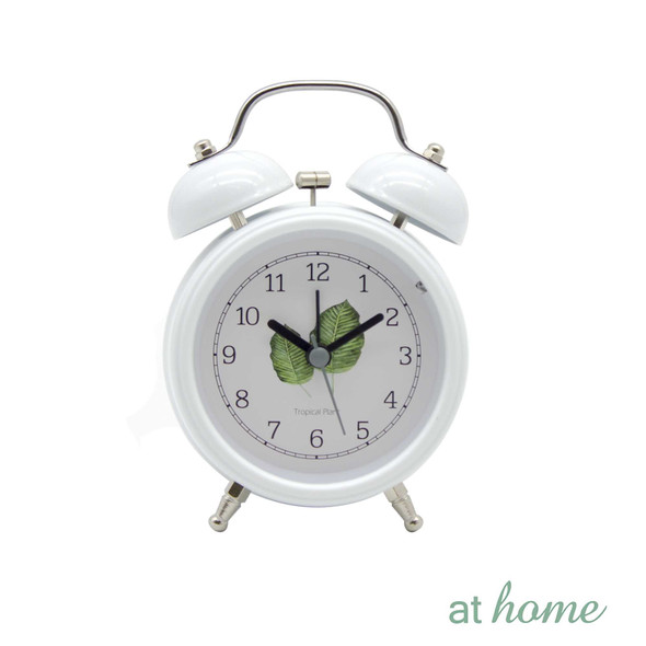 Athome Wendy Table Clock White
