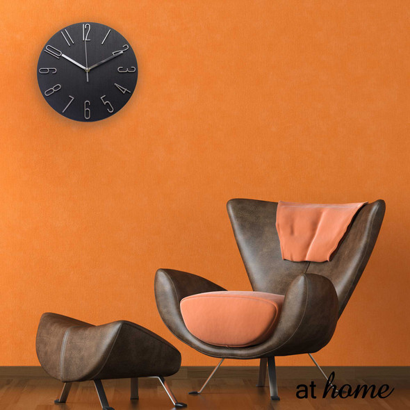 Athome Wallace Wall Clock  Cream1