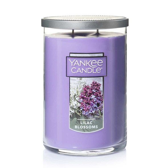 2 WICK TUMBLER LARGE LILAC BLOSSOM (623g)