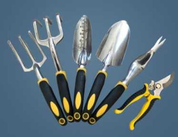 Garden Tools 6PCS Set Rub