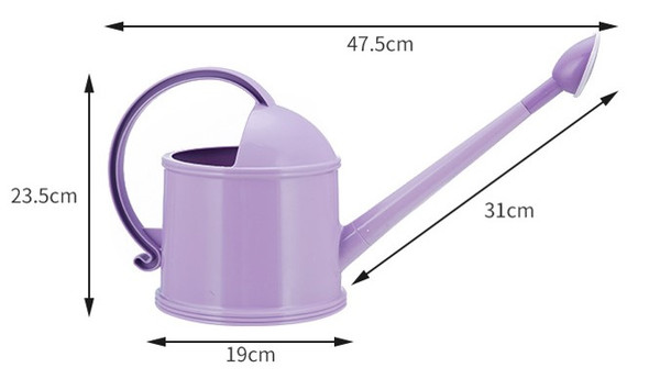 Polypropylene (PP) Watering Pot Kettle Gray,Pink and Beige Only