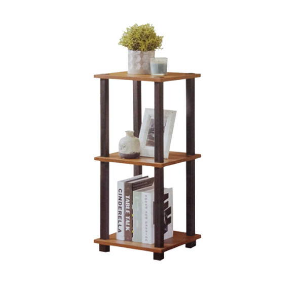 3 Tier Shelf Phone StandColor Variation: Brown/Silver Ash